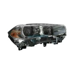 New Right Side Hid Headlight Lens And Housing Fits 2015-2019 Bmw X6 Bm2519149