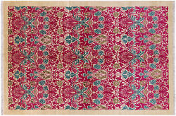 6and039 2 X 9and039 1 William Morris Hand Knotted Wool Rug - P6516