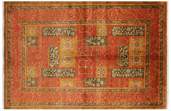6and039 2 X 9and039 1 Handmade William Morris Wool Rug - P7092