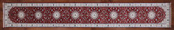 2and039 8 X 18and039 2 Nain Wool And Silk Hand Knotted Runner Rug - P9649