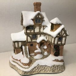 David Winter Cottages Ebenezer Scrooge's Counting House, 1987 W/box
