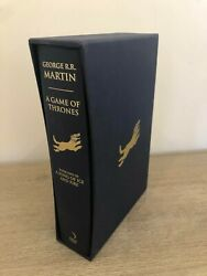 Game Of Thrones First Edition Book Slipcase Deluxe George Rr Martin