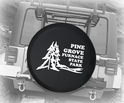 Spare Tire Cover Pine Grove Furnace State Park Travel Auto Accessories
