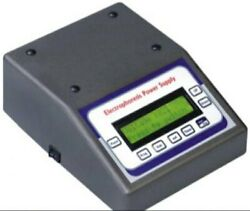 Electrophoresis Power Supply, Digital Microprocessor Colored Lcd Graphic Display