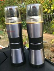 Starbucks ☆ Coffee Pewter Extreme Thermos Bottle ☆16 Oz Hot Cold Stainless Steel