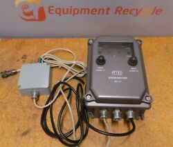 AMES MHV 117 Anemometer Measures Measument Wind Excess Speed Double Alarm
