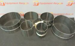 Precision Brand Maudlin Stainless Shim Stock Assortment New Lot Of 6