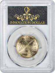 2018-d Innovation Dollar 1st Patent Position B Ms67 Pcgs First Strike