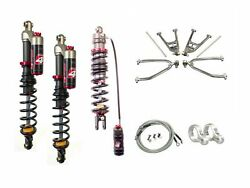 Lsr Lone Star Dc-4 Long Travel A-arms Elka Stage 4 Front Rear Shocks Yfz450 04