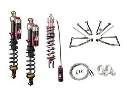 Lsr Lone Star Dc-4 Long Travel A-arms Elka Stage 4 Front Rear Shocks Yfz450 06+
