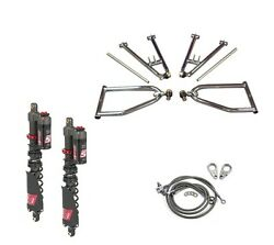 Lsr Lone Star Sport A-arms Elka Stage 5 Front Shocks Kit Yamaha Yfz450x