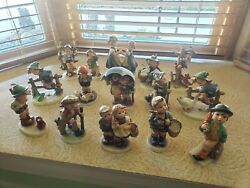 15 Vintage Goebel Hummelandnbsp Figurines Lot Mint Condition Bought In 1950and039s