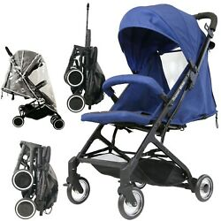 Isafe Super Mini Stroller Navy Limited Edition Compact Foldaway Lightweight