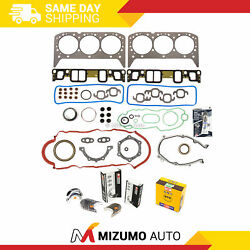Engine Re-ring Kit Fit 07-11 Chevrolet Silverado Express Gmc Savana Sierra 4.3l