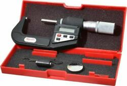 Starrett 1 To 2 Micro-lapped Carbide Standard Electronic Outside Micrometer ...