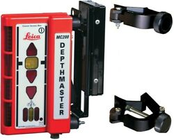 Leica Mc200 Depthmaster Digging System With Clamp-on And Magnetic Brackets