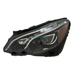Front Lh Side Led Headlight Assembly Fits 2014-2017 Mercedes-benz E400 Mb2502233