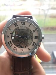 Automatic Watch By Skyline Williston Collection 3238 Openwork. Limited Edition