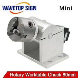 Wavetopsign Rotary Worktable Claw 80mm For Portable Laser Marking Machine