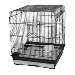 18 X 18 Fan Top Cage Charcoal - Case Of 4