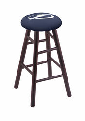 Holland Bar Stool Co. Maple Counter Stool In Dark Cherry Finish With Tampa Ba...