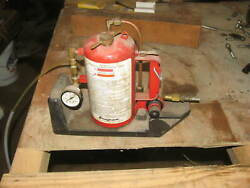 Snap-on Fuel Injection System Cleaner Mt338a Tool Garage Mechanic