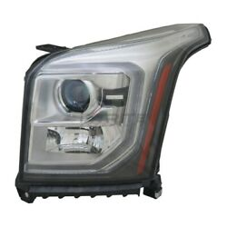 Gm2502414 New Left Driver Side Hid Headlight Assembly For 2015-2017 Gmc Yukon