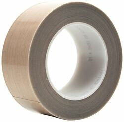3m Ptfe Glass Cloth Tape 5453 Brown, 2 In X 36 Yd 8.3 Mil, 6 Per Case Boxed