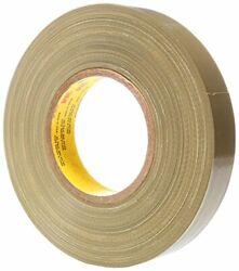 Scotch Polyethylene Coated Cloth Tape 390 Olive, 1 In X 60 Yd Case Of 36