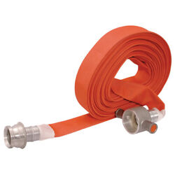 Jaymac Industrial Products - Fire Hose-64mm Id-30mtr-c/w Fittings 12-00943
