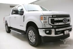2020 Ford F-250  2020 Navigation 18s Aluminum Cloth Heated Bluetooth V8 Diesel Vernon Auto Group