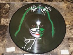 Peter Criss Rare Signed w Sketch 12