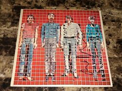 Talking Heads Rare David Byrne Signed Vinyl Lp Record More Songs About Buildings