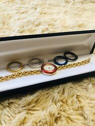 Authentic Gucci Gold Plated Watch $285.00