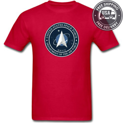 Official 2020 U.S. Space Force Seal USSF Premium Soft-style UNISEX T-Shirt S-5X $17.76