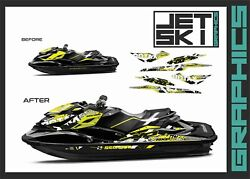 Seadoo Rxp Rxpx 260 Graphics Kit For 2012 2013 2014 Jet Ski Decals Stickers Wrap