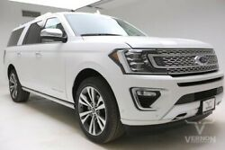 2020 Ford Expedition  2020 Navigation Heated Cooled Leather Bluetooth V6 Ecoboost Vernon Auto Group
