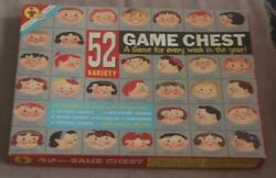 Transogram Games 52 Variety Game Chest 1958
