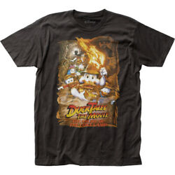 Duck Tales The Movie Lost Lamp Fitted Jersey Tee Unisex