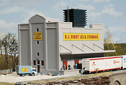 Walthers Cornerstone N Scale Building/structure Kit R. J. Frost Ice And Storage