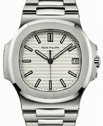 Patek Philippe Nautilus 5711 Steel Silver Dial Mens Watch BoxPapers 57111A