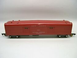 651 American Flyer Red Plastic Rea New Haven Baggage Car [lot C2-p24]