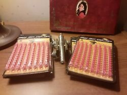 Little Napoleon Made In Italy Vintage Cannon Gun Huge Lot Of Ammo Single Shot