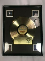 Kiss Solos Gold Record 500000 Sales In-House Casablanca RIAA Award