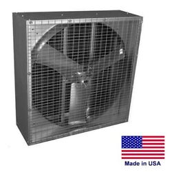 24 Agriculture Exhaust Fan - 5618 Cfm - 115/230v - 1 Ph - 1/2 Hp - Direct Drive