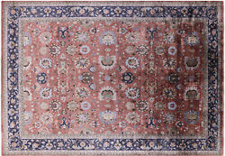 9and039 11 X 14and039 2 Hand-knotted Silk Area Rug - Q4164