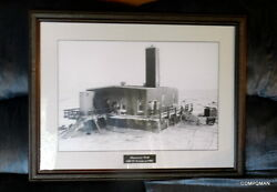 Arco Exxon Discovery Well Prudhoe Bay Oil Field Trans Alaska Pipeline Photograph