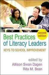 Best Practices Of Literacy Leaders Second Edition Keys To School Improvement B