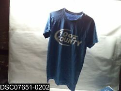 Qty=86 See Description For Sizes 10oz County Short Sleeve Blue Promo T-shirt