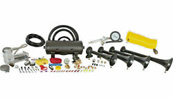 New - Hornblasters Conductorand039s Special Model Hk-s4-238a Train Horn Kit